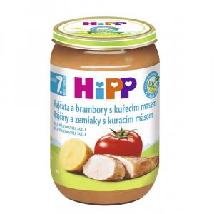 HiPP BIO Rajčata s bramborami a kuřetem 220 g