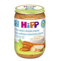 HIPP Junior Rýže s karotkou a krůtím masem BIO 220 g