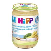 HiPP BIO Těstoviny s mořskou rybou, brokolicí a smetanou 220 g