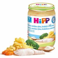 HiPP Mini těstoviny s aljašskou treskou v máslové zelenině 190 g