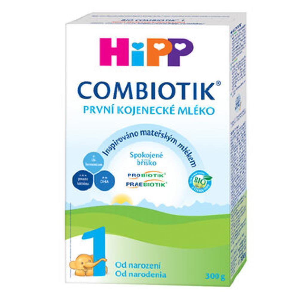 HiPP 1 BIO Combiotik Počáteční kojenecké mléko od 0 - 6 měsíců 300 g