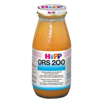 HiPP ORS Mrkvový-rýžový odvar proti průjmu 200 ml