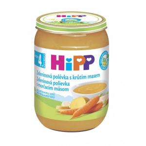 HiPP BIO Polévka Zeleninová s krůtím 190 g
