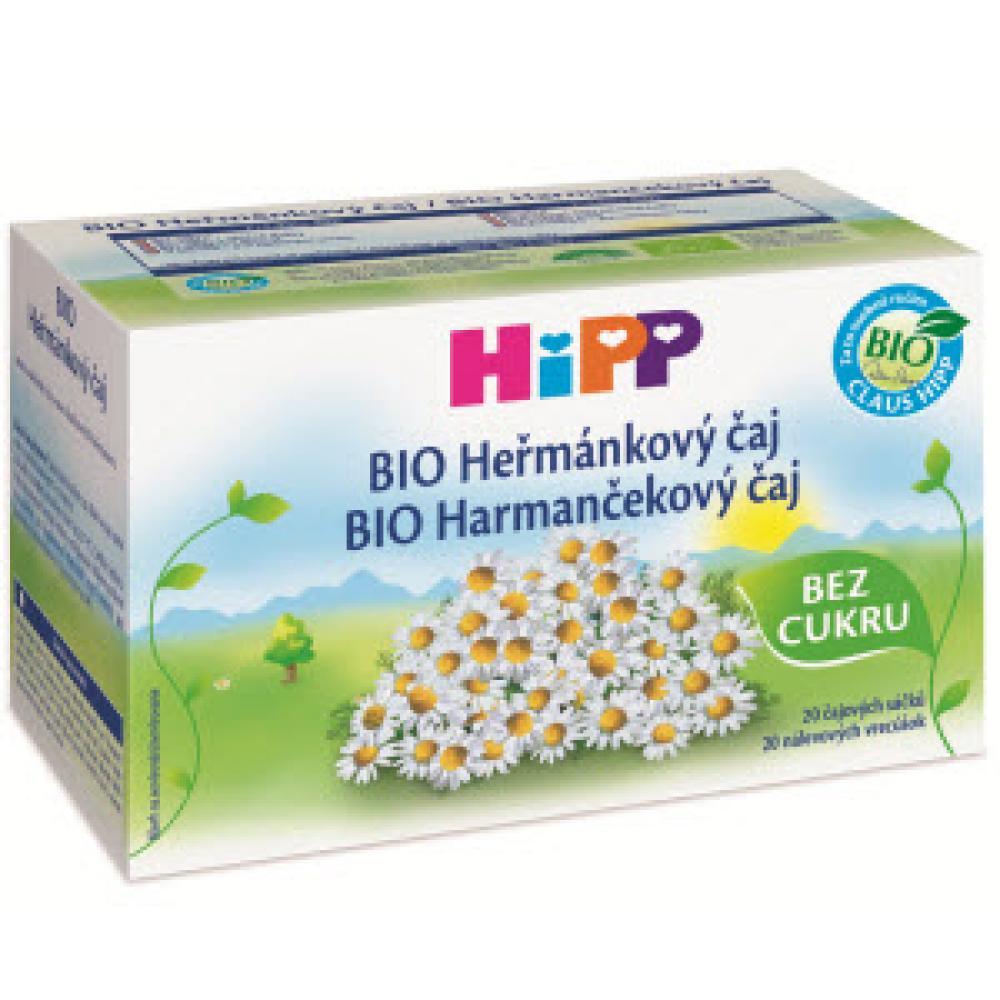 HIPP BIO Heřmánkový sáčkový čaj 20 x 1.5 g