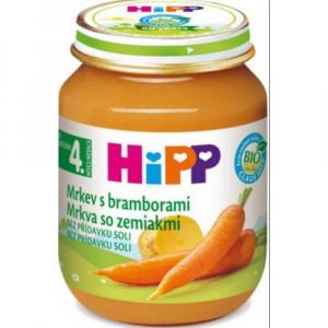 HiPP BIO Karotka s bramborem 125 g