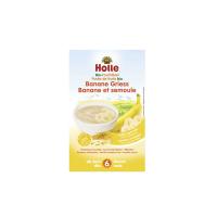 HOLLE Baby Bio krupicová kaše s banánem 250 g