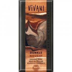 VIVANI bio čokoláda hořká nugátová 100g