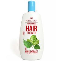HRISTINA přírodní kondicionér pro růst vlasů s chmelem 200 ml