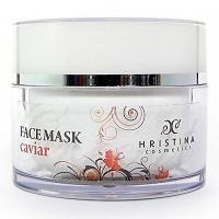 HRISTINA Přírodní obličejová maska kaviár 100 ml