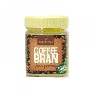 HRISTINA Přírodní peeling z kávových zrníček 200 ml