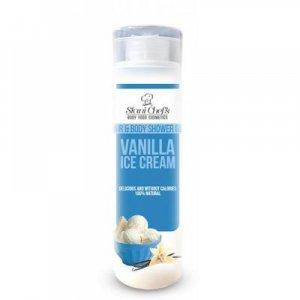 STANI CHEF'S Přírodní sprchový gel na vlasy a tělo Vanilková zmrzlina 250 ml