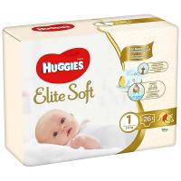 HUGGIES Elite Soft 1 3 až 5 kg 26 ks
