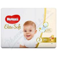 HUGGIES Elite Soft 3 5 až 9 kg 40 ks