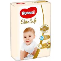 HUGGIES Elite Soft 3 5 až 9 kg 80 ks