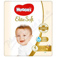 HUGGIES Elite Soft 4 8 až 14 kg 33 ks