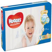 HUGGIES Ultra Comfort Jumbo vel.3 5-8kg 56 ks