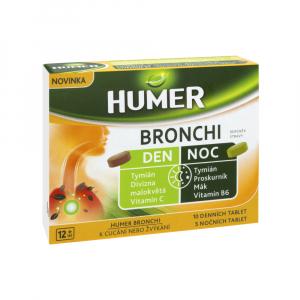 HUMER BRONCHI Den a noc 15 tablet