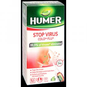HUMER Stop virus nosní sprej 15 ml