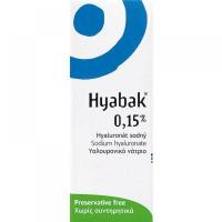 Hyabak 0.15% gtt. 10 ml