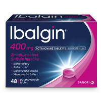 IBALGIN 400 mg 48 potahovaných tablet