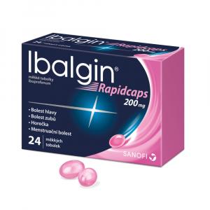 IBALGIN Rapidcaps 200 mg 24 tablet