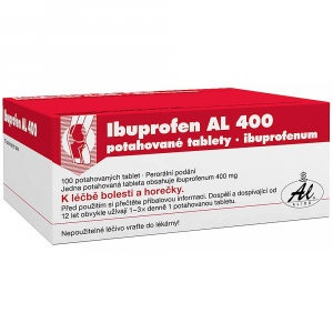 IBUPROFEN AL 400 mg 100 tablet