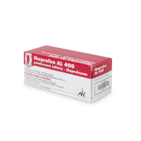 IBUPROFEN AL 400 mg 50 tablet