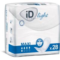 ID Light maxi inkontinenční vložky 5 kapek 28 kusů