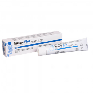 IMAZOL PLUS 10mg/g+2.5mg/g crm. 30g