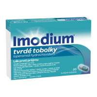 IMODIUM 2 mg 20 tobolek