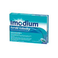IMODIUM 2 mg 8 tobolek
