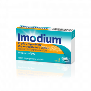 IMODIUM Rapid 2 mg 12 perorálních tablet
