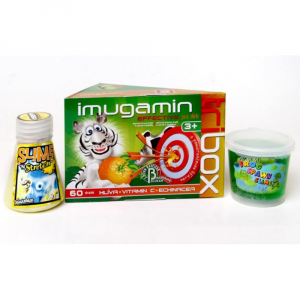 IMUGAMIN Effective pro děti dražé 60 TRIBOX + hračka