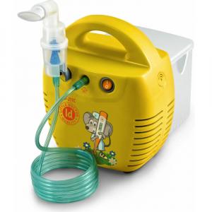 LITTLE DOCTOR Kompresorový inhalátor LD-211C žlutý