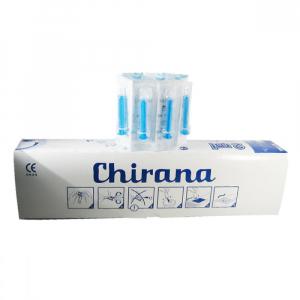 CHIRANA Luer Injekční stříkačka 2 ml jednorázová 100ks