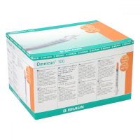 B.BRAUN Omnican 100 1 ml inzulinová stříkačka 0,3x 12 mm 100 ks