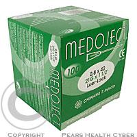 Injekční jehla TERUMO 21Gx1-0.80x25 zelená100ks