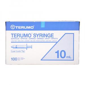 TERUMO Syringe Injekční stříkačky 10ml 100 kusů