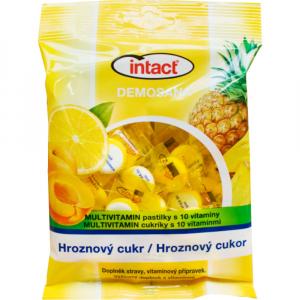 INTACT Demosana bonbóny z hroznového cukru s 10 vitamíny 500 g