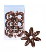 INVISIBOBBLE Nano Gumičky do vlasů True Black 3 ks