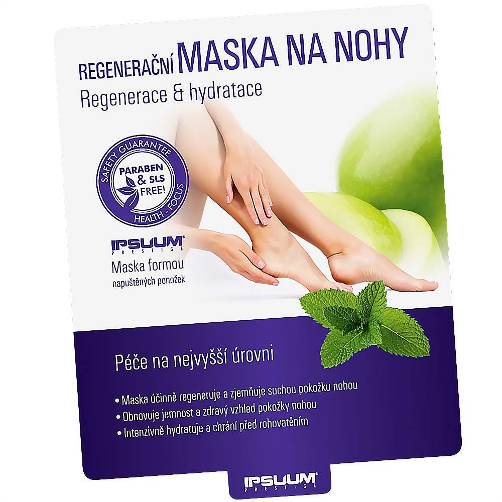 IPSUUM Regenerační maska na nohy 32 ml (1 pár)
