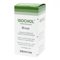 ISOCHOL 400 mg  30 obalených tablet