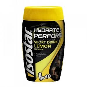 ISOSTAR Hydrate & Perform prášek LEMON 400 g