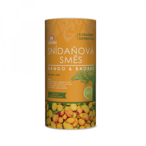ISWARI Snídaňová směs Mango a baobab BIO 800 g
