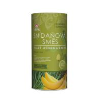 ISWARI Snídaňová směs Mladý ječmen a banán BIO 800 g
