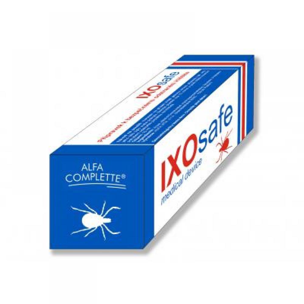 IXOsafe 10 ml pro bezpečné odstranění klíšťat + pinzeta