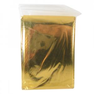 Izotermická folie Fixaplast 220x140 stříbro/zlato