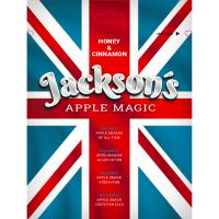 JACKSON´S - APPLE MAGIC - HONEY & CINNAMON sušená jablka s medem a skořicí 30g