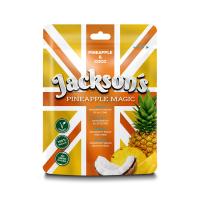 JACKSON´S PINEAPPLE MAGIC Sušený ananasový snack s kokosovými Chipsy 50 g