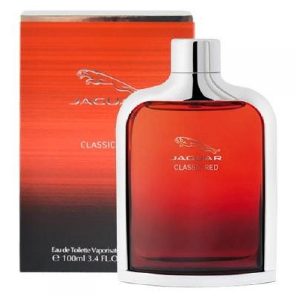 JAGUAR Classic Red – Toaletní voda pro muže 100 ml